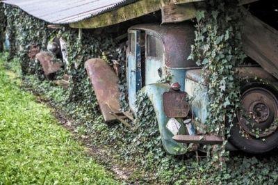 法国农场被弃豪车之一 法拉利拍出1.15亿天价